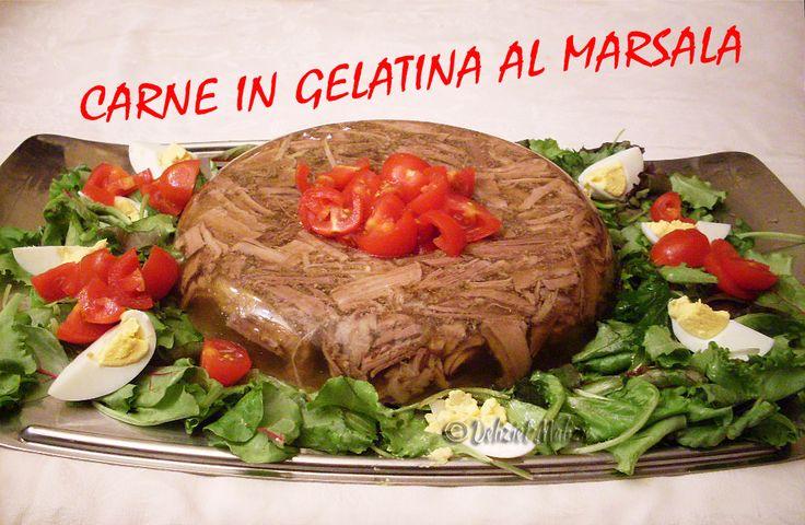 Carne+in+gelatina+al+marsala,+fatta+in+casa+è+semplice+e+squisita