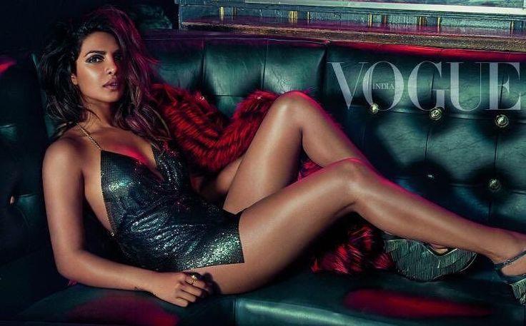 Hot Priyanka Chopra for Vogue India 2017 photoshoot