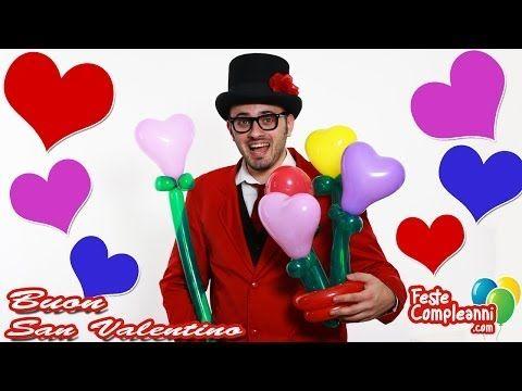 Palloncini modellabili per San Valentino come idea regalo. Mazzo di cuori con i palloncini modellabili per sculture. Balloon art tutorial.  San Valentino Idee Regalo - Mazzo di Cuori con Palloncini - Costruiamo insieme un fantastico mazzo di cuori con i palloncini modellabili. Perfetto da usare come regalo per il giorno di san Valentino.