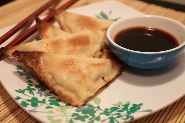 Skinny Crab Rangoon, under 50 calories and only 1 weight watchers points plus