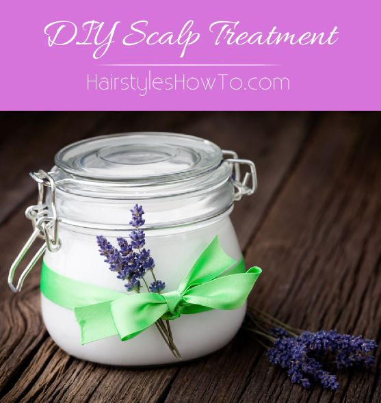 DIY Scalp Treatment - Natural home remedy for keeping your scalp moisturized and hydrated.