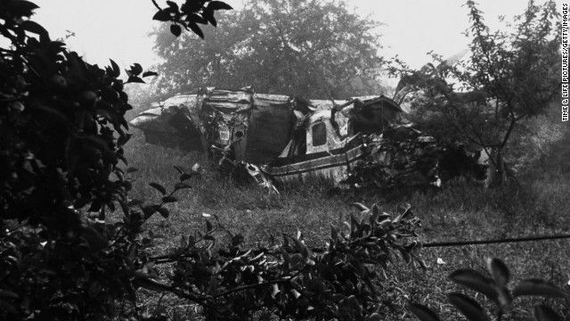 In 1964, Ted Kennedy suffered a broken back when his private plane crashed in Southampton, Massachusetts. Indiana Sen. Birch Bayh also survived the crash, but the pilot and one of Kennedy's aides were killed.
