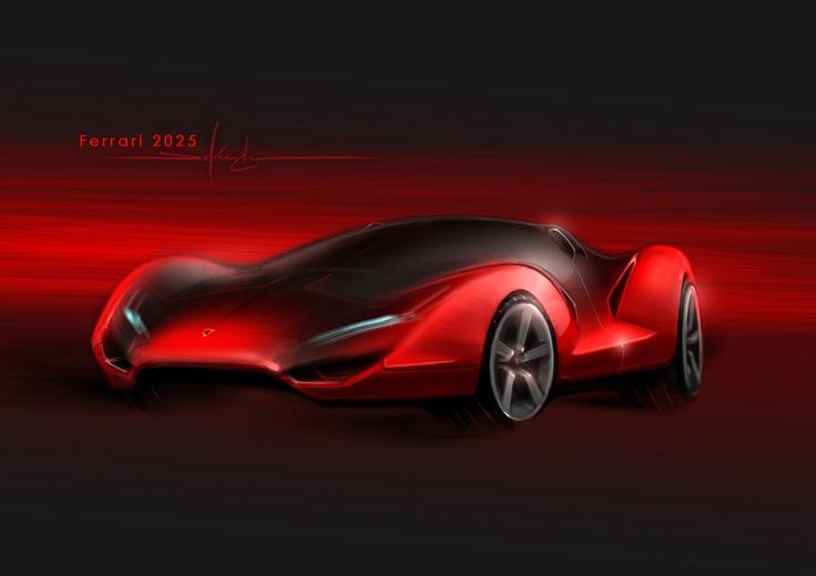 Ferrari 2025, by Mchan | HUE: Red | Pinterest | Ferrari
