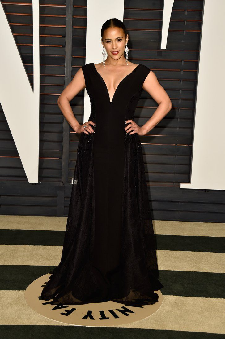 Pin for Later: See Which Stars Let Their Hair Down at Vanity Fair's Oscars Afterparty! Paula Patton