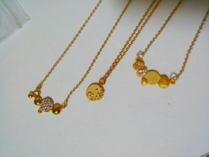 Drop by drop necklace