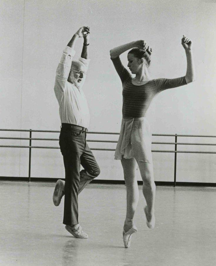 Jerome Robbins & Darci Kistler