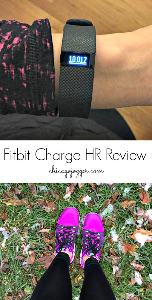 Fitbit Charge HR Review - I finally joined the fitness tracking world. | chicagojogger.com