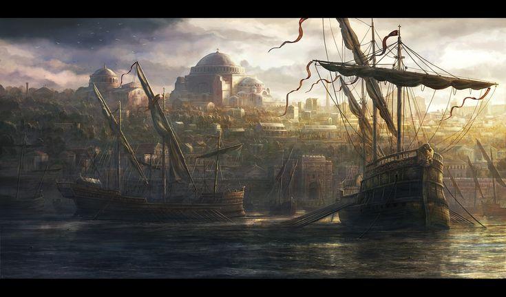 Constantinople by rado javor   Illustration   2D   CGSociety
