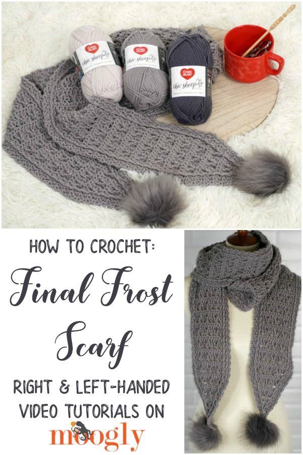Final Frost Scarf Tutorial Moogly Tutorials Scarf Tutorial