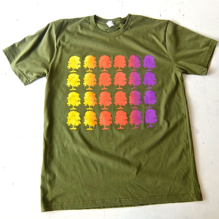 What are you wearing for Election Day?  Rainbow Roll Trees #victorygarden by Gallery Owner, Curator, Printmaker/Publisher Katie Michel. This Victory Garden silk screen rainbow roll print t-shirt can be purchased individually or as part as limited edition collectors portfolio. Go to http://www.russelljanis.com/shop/victory-garden-tshirt-portfolio/ to see entire print portfolio project and to purchase.
