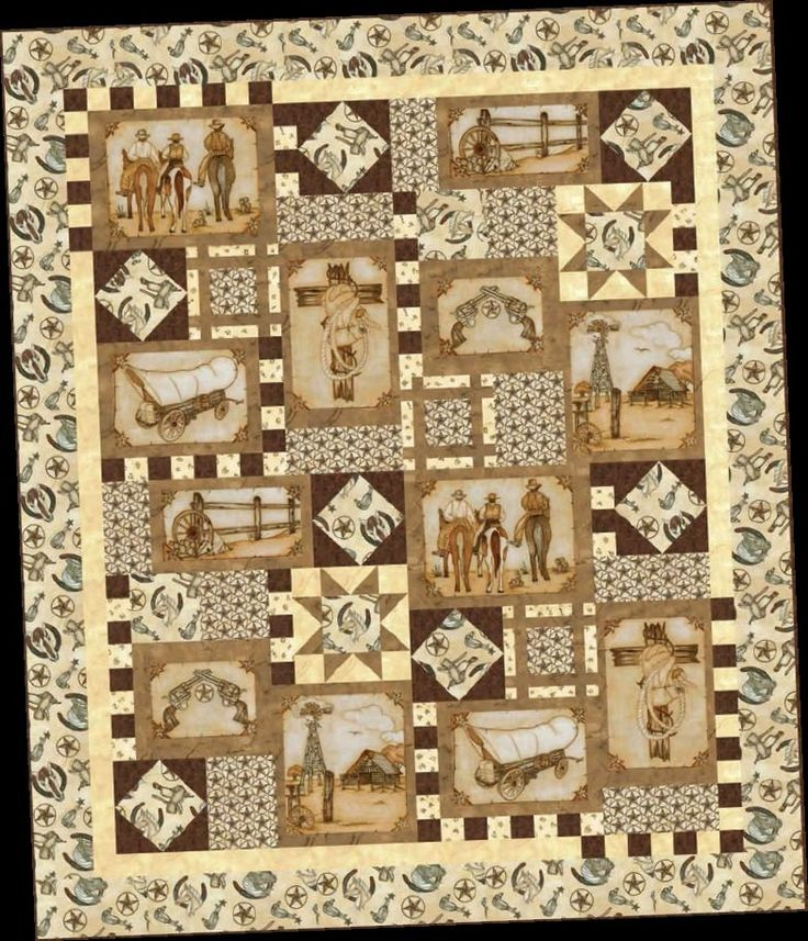 1000 Ideas About Western Quilts On Pinterest Cowboy