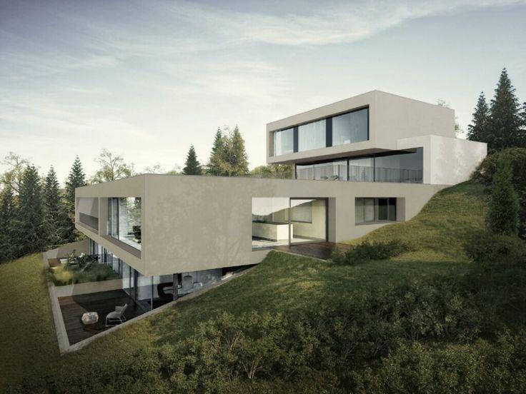 Inspirierende Architektur, Verbunden Mit Der Natur (Haldenrebenstrasse 8908  Hedingen, Schweiz)