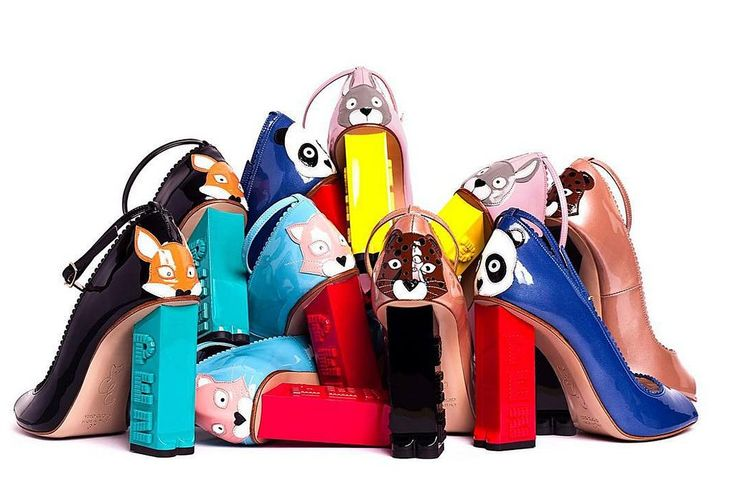 The Fashionably Nostalgic Candy Heels That'll Be Top of Your Christmas List