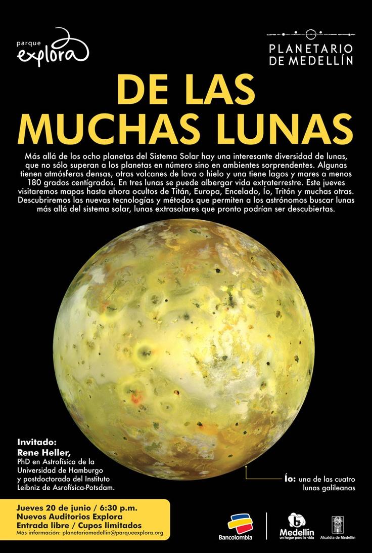 De las muchas lunas // Planetario Medellin