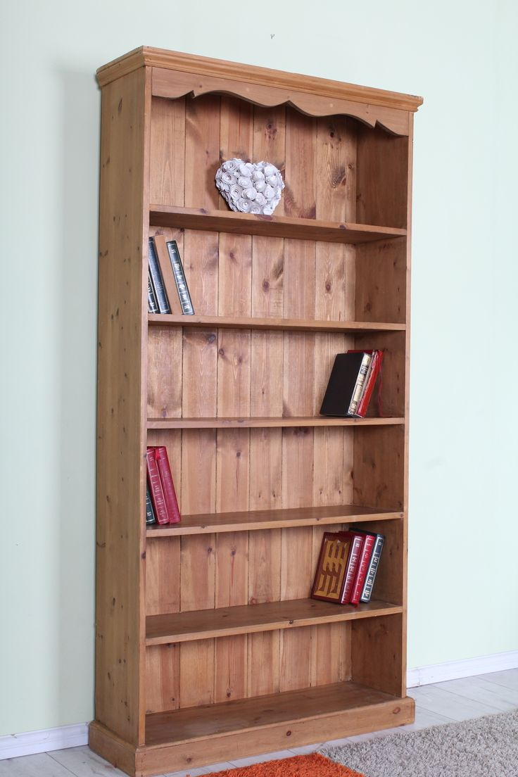 Large Pine Bookcase 6 Ft See The Website For All Our Products Prices