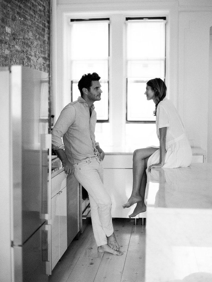 Authentic Engagement Photos at Home ,  Irina Bezovskaya | Photographer