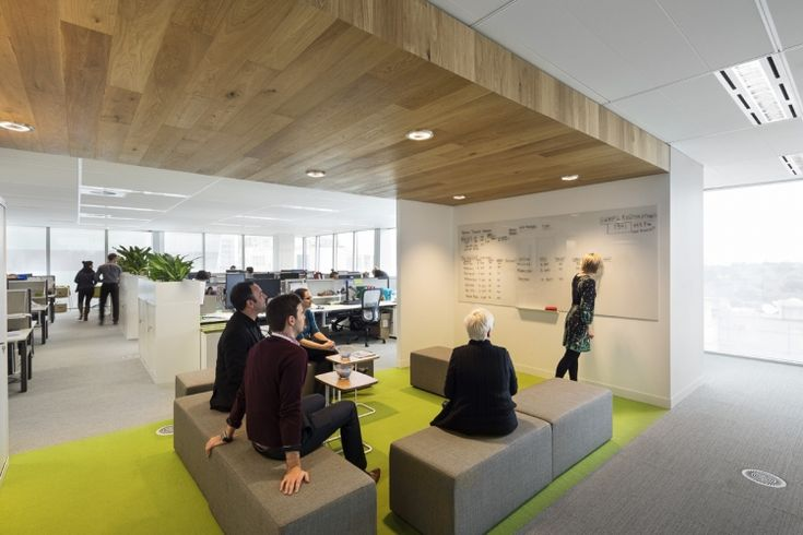 Vicsuper melbourne office design mcelhanney idea for Melbourne space design