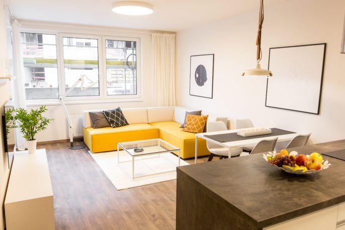 Krásny minimalistický byt v Malých Krasňanoch inšpirovala blízka príroda - Byvanie je hra