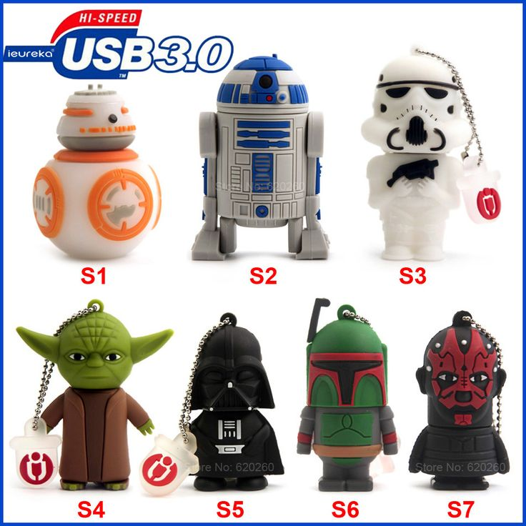 USB3.0 Star Wars Flash drive //Price: $16.49 & FREE Shipping //     #starwarsfan  #StarWarsRebels  #starwarslove  #starwarstoyfigs
