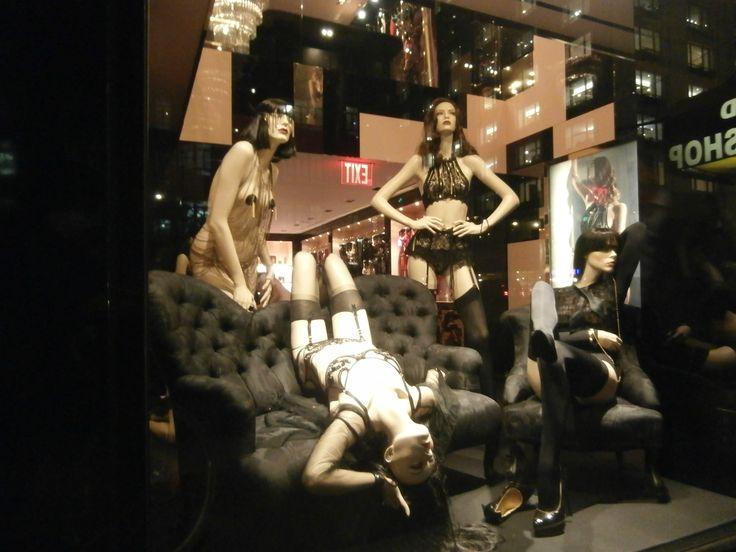 agent provocateur shop in madison ave new york ny shot nov 5 2014 by gordnpym low. Black Bedroom Furniture Sets. Home Design Ideas