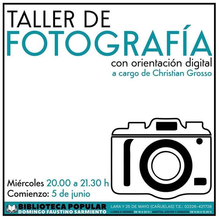 TALLER DE FOTOGRAFIA BÁSICA con Orientación Digital (vigente desde 2011) A car…