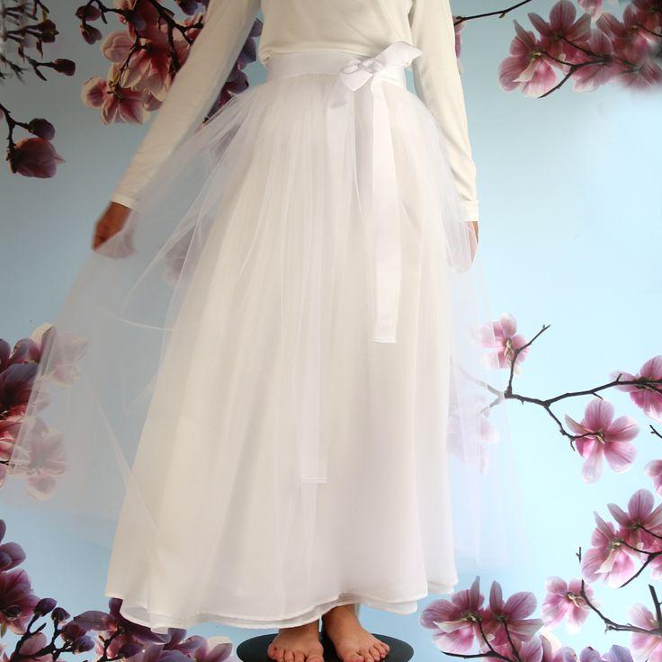 langer BrautTüllrock aus München ma-eins