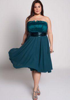 en plus robe de soirée taille Alicia Dress