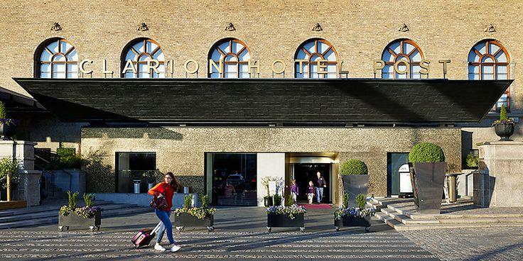 Clarion Hotel Post in Gothenburg, Sweden | Semrén & Månsson