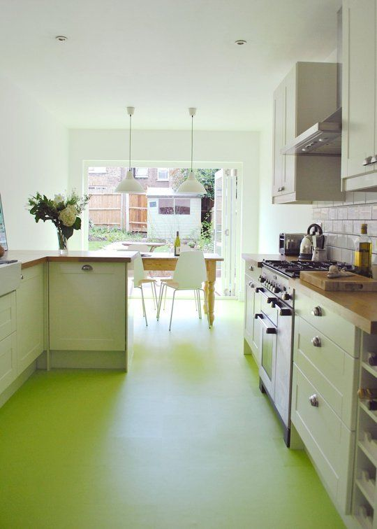 Before after an east london kitchen gets a vibrant makeover
