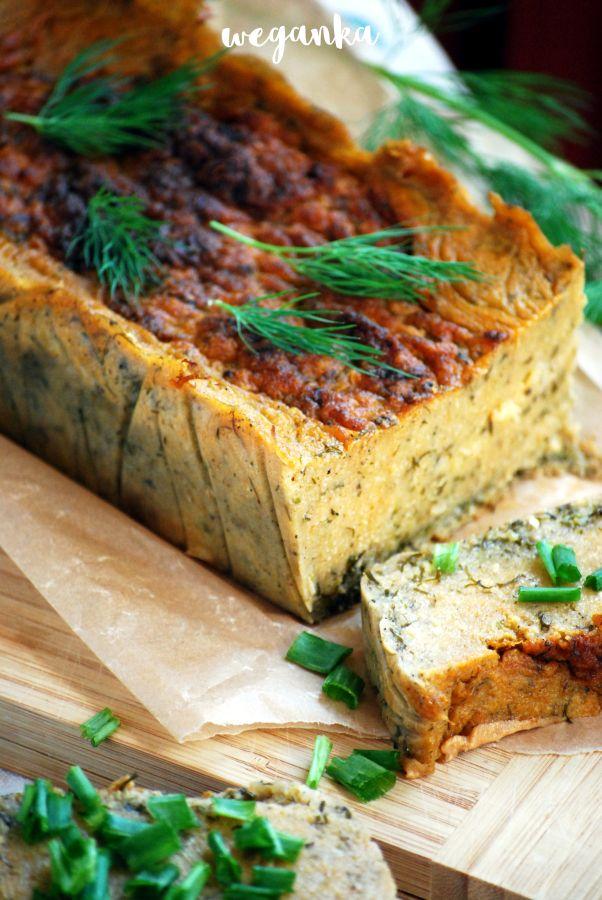 Kuchnia wegAnki: Koperkowy pasztet z kaszy jaglanej i cukinii