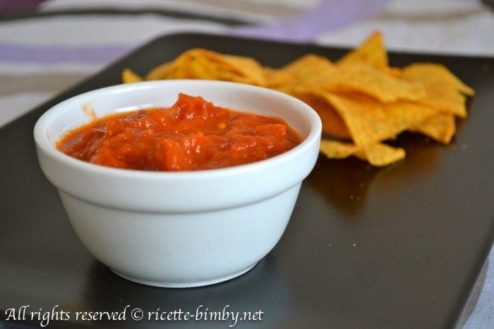Salsa messicana per Nachos Bimby