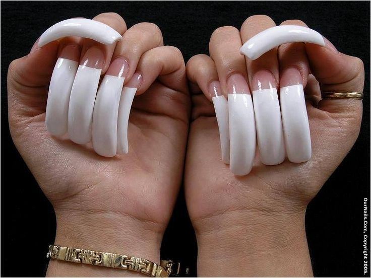 98 best Curved nails images on Pinterest   Curved nails, Long nails ...