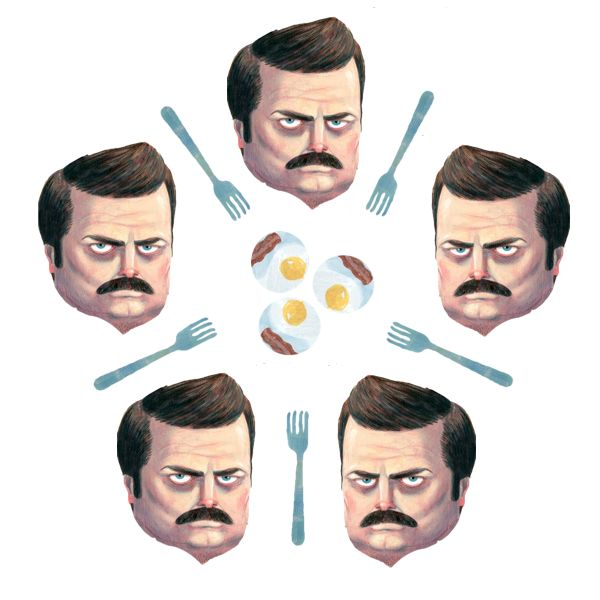 The Dining Philosophers Problem With Ron Swanson - adit.io