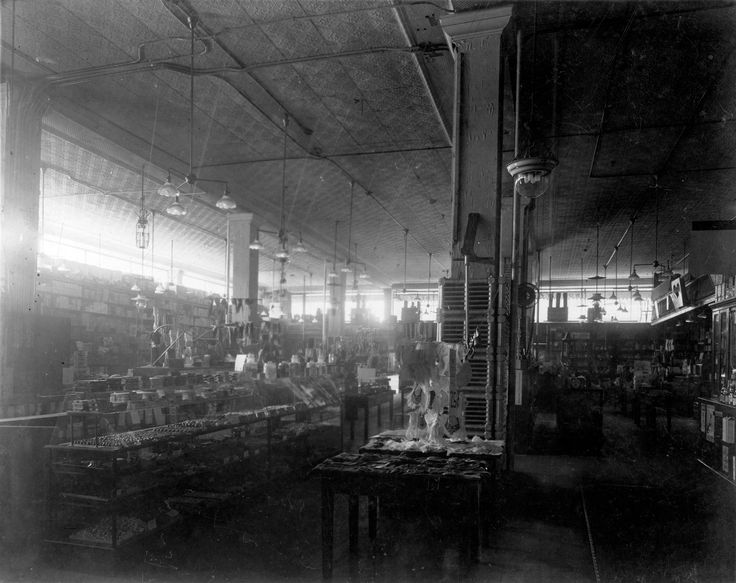 woodwards department store | Interior of Woodward's Department Store at Hastings Street and Abbott ...