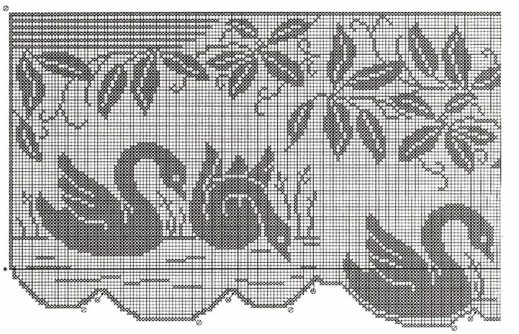 PORTAL DOS CROCHÊS: FILET CROCHET                                                                                                                                                                                 Mais