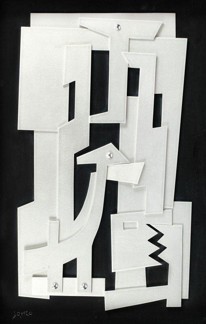 Marcel Iancu, Collage - Licitația de Artă Postbelică și Contemporană #239/2017 - Arhivă rezultate