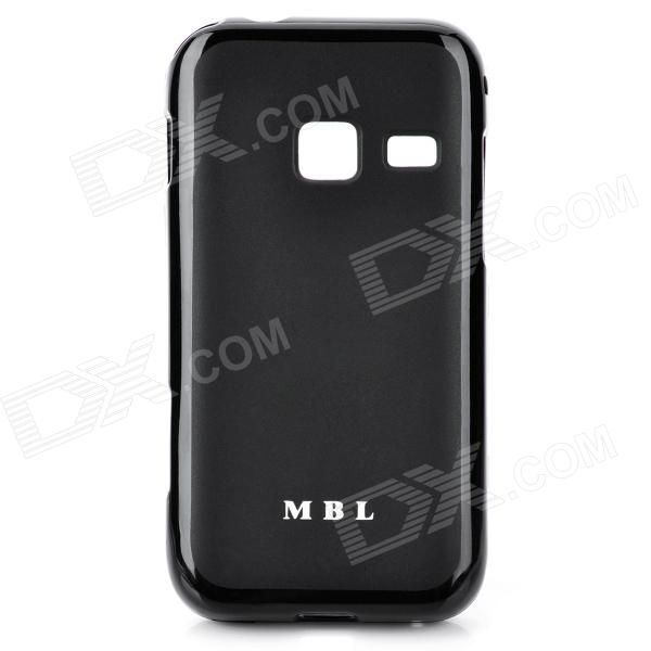 Brand: MBL; Material: Silicone; Color: Black; Qty: 1; Compatible Model: Samsung S5820; Features: Protects your device from scratches, shock and dust; Packing List: 1 x Case; http://j.mp/1toKbkx
