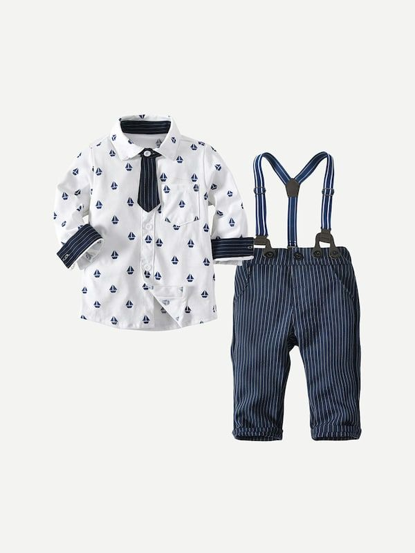 Toddler Baby Girl Clothes Long Sleeve Tops Plaid Suspender Bib Pants Jumpsuit Outfits Set School Uniform