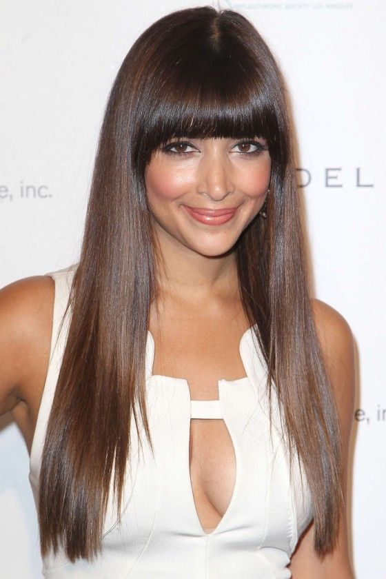 Hannah Simone - love her hair - done