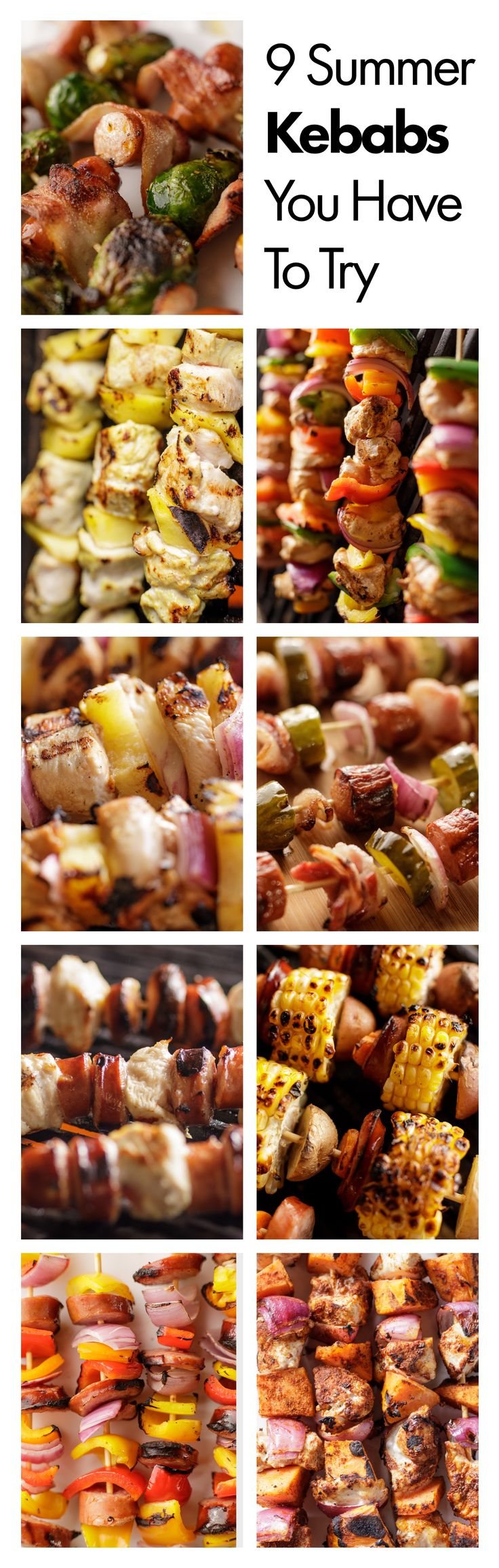 Summer Kebab Recipes