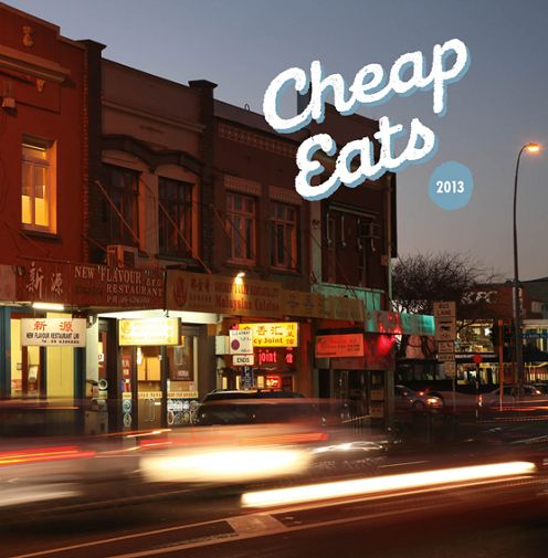 Metro 2013 Cheap Eats in the central city   www.heartofthecity.co.nz  Everything on this list!