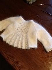 Ravelry: Marian Shrug pattern by Taiga Hilliard Designs