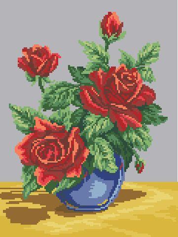 Gallery.ru / Фото #22 - цветы схемы есть - vilar2000