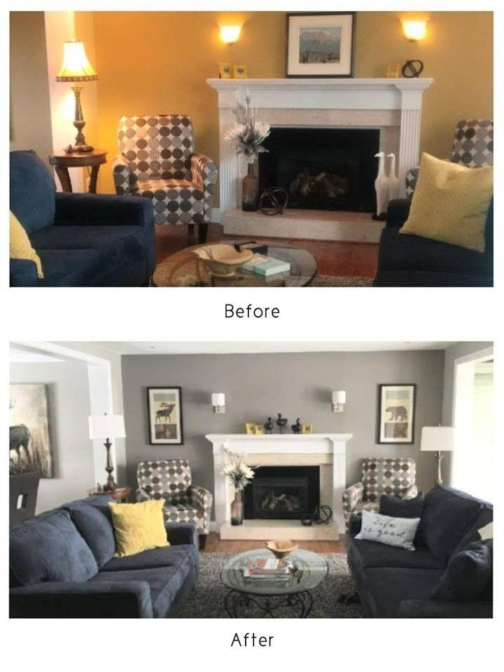How Paint Transforms A Room. Decorating BlogsInterior ...