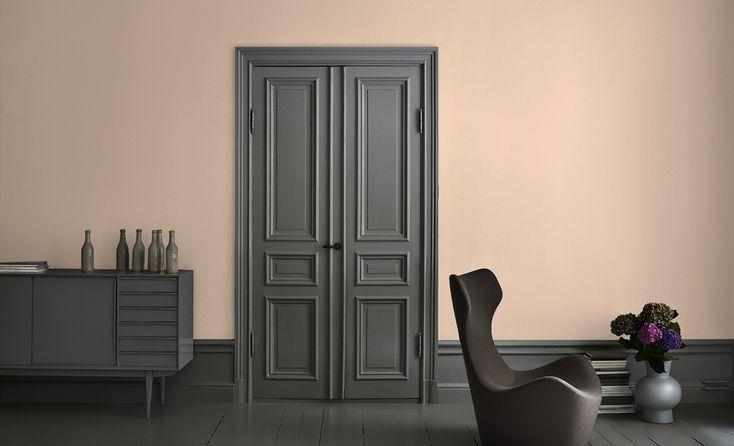 Alcro puder - fantastisk smutsrosa väggfärg