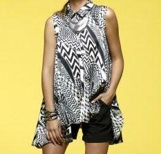 Honey & Beau tribal fusion shirt, $119 | www.threadsandstyle.com.au