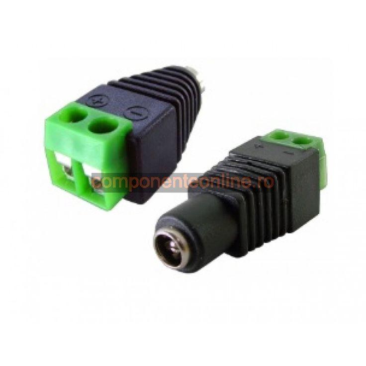 Conector DC, 2,1mm - 126823
