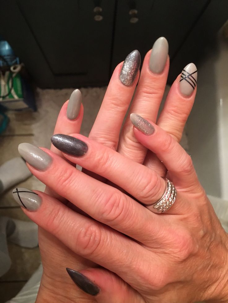 15 best my nails images on pinterest my nails gray nails and silver grey nails design prinsesfo Images