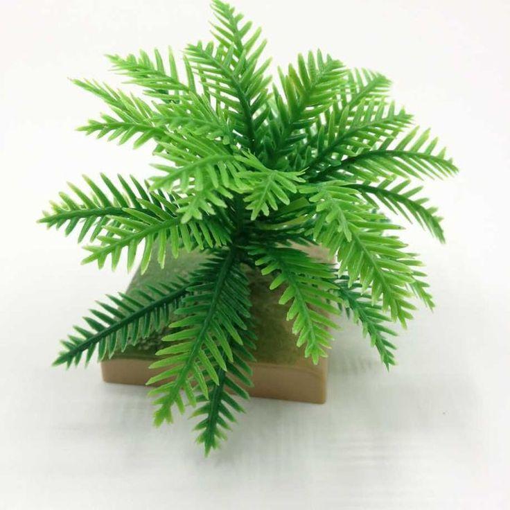 10 Шт. искусственное дерево миниатюры симпатичные растения фея садовый гном мох кокосовой пальмы декора ремесла для бутылка сад бесплатная доставка купить на AliExpress