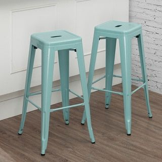 Shop for Tabouret 30-inch Light Blue Bar Stool (Set of 2). Get free shipping at Overstock.com - Your Online Furniture Outlet Store! Get 5% in rewards with Club O!